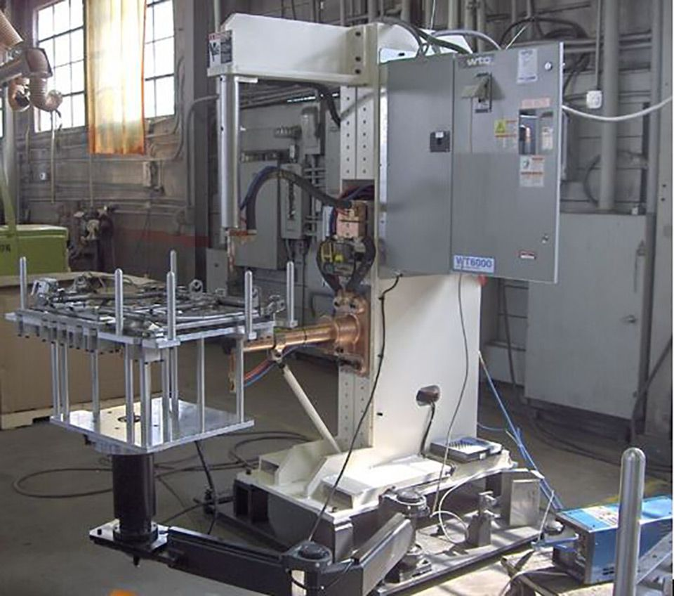 Dedicated Welding Machines Stryver Manufacturing Inc