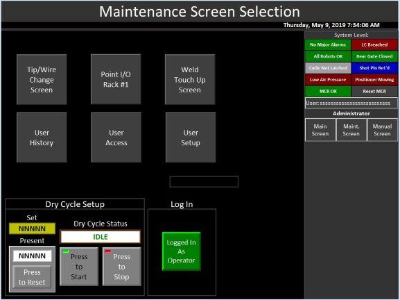 Machine Controls (HMI & PLC) - Stryver Manufacturing, Inc