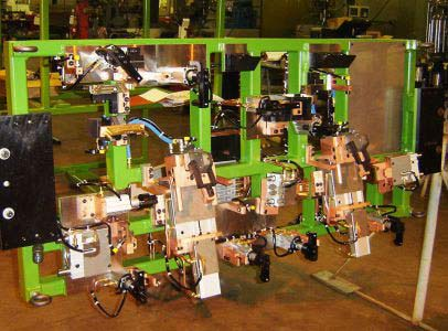 Automated Robotic Welding Tooling
