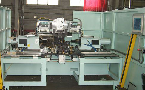 High Precision Multiple Task Rivet Machine
